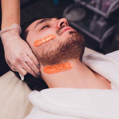 Man Face Hair Removal